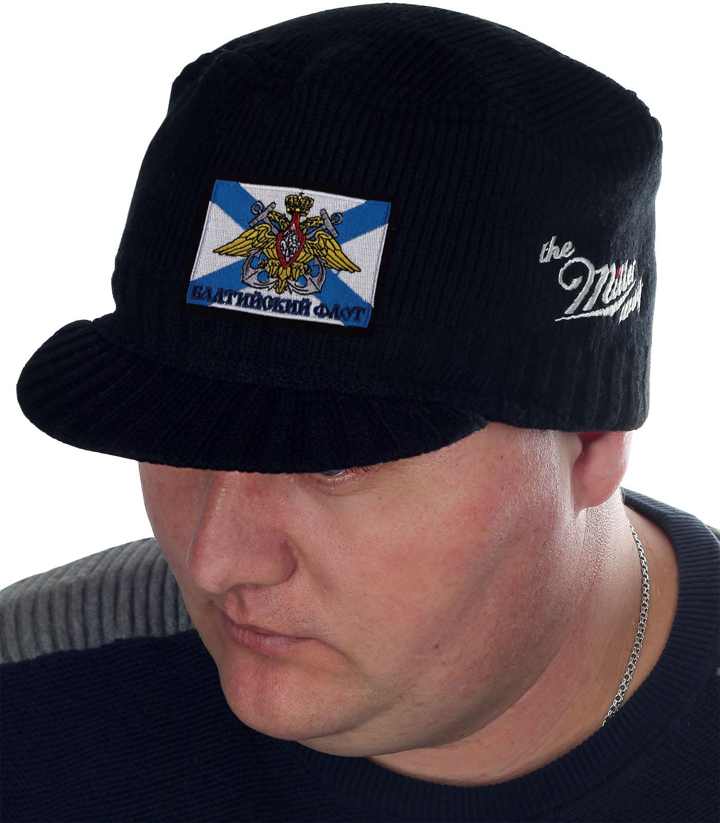 Черная брендовая шапка Miller Way - купить с доставкой