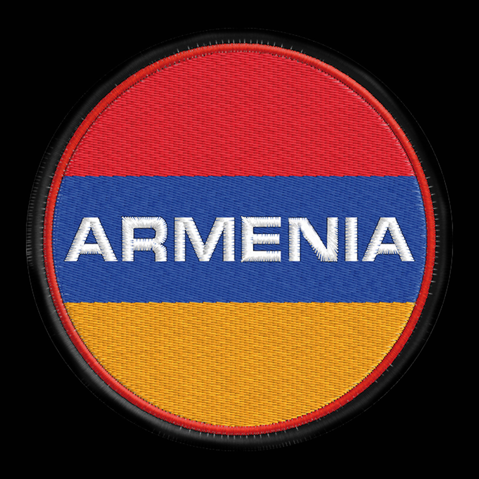 Чёрная дорожная сумка Армения