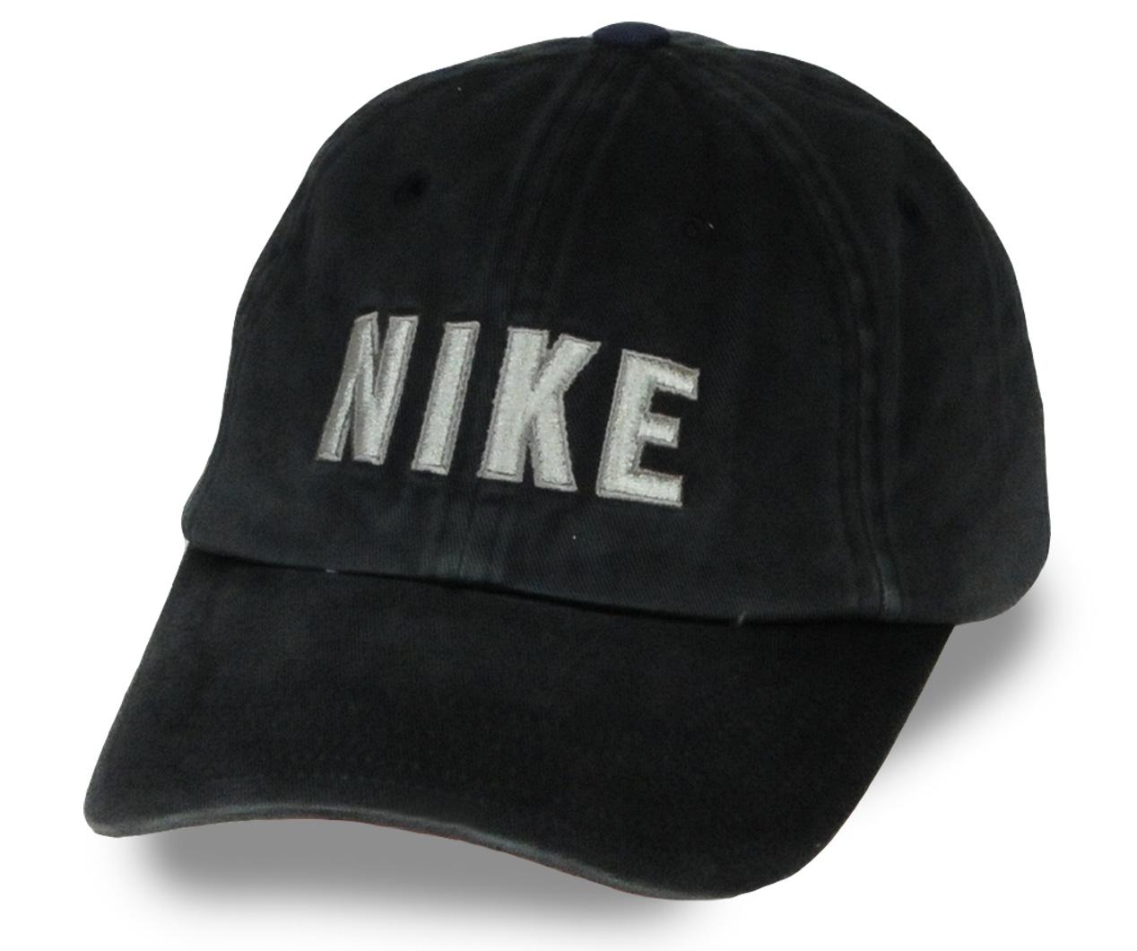 Черная джинсовая бейсболка брендового качества