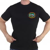 Черная футболка 14 ОБСКР