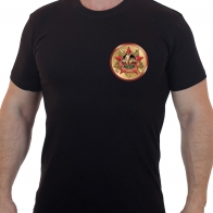 Мужская черная футболка Афганистан 1979-1989.