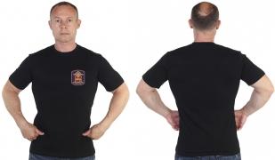 Черная футболка МВД