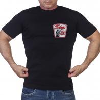 Черная футболка Победа с солдатом