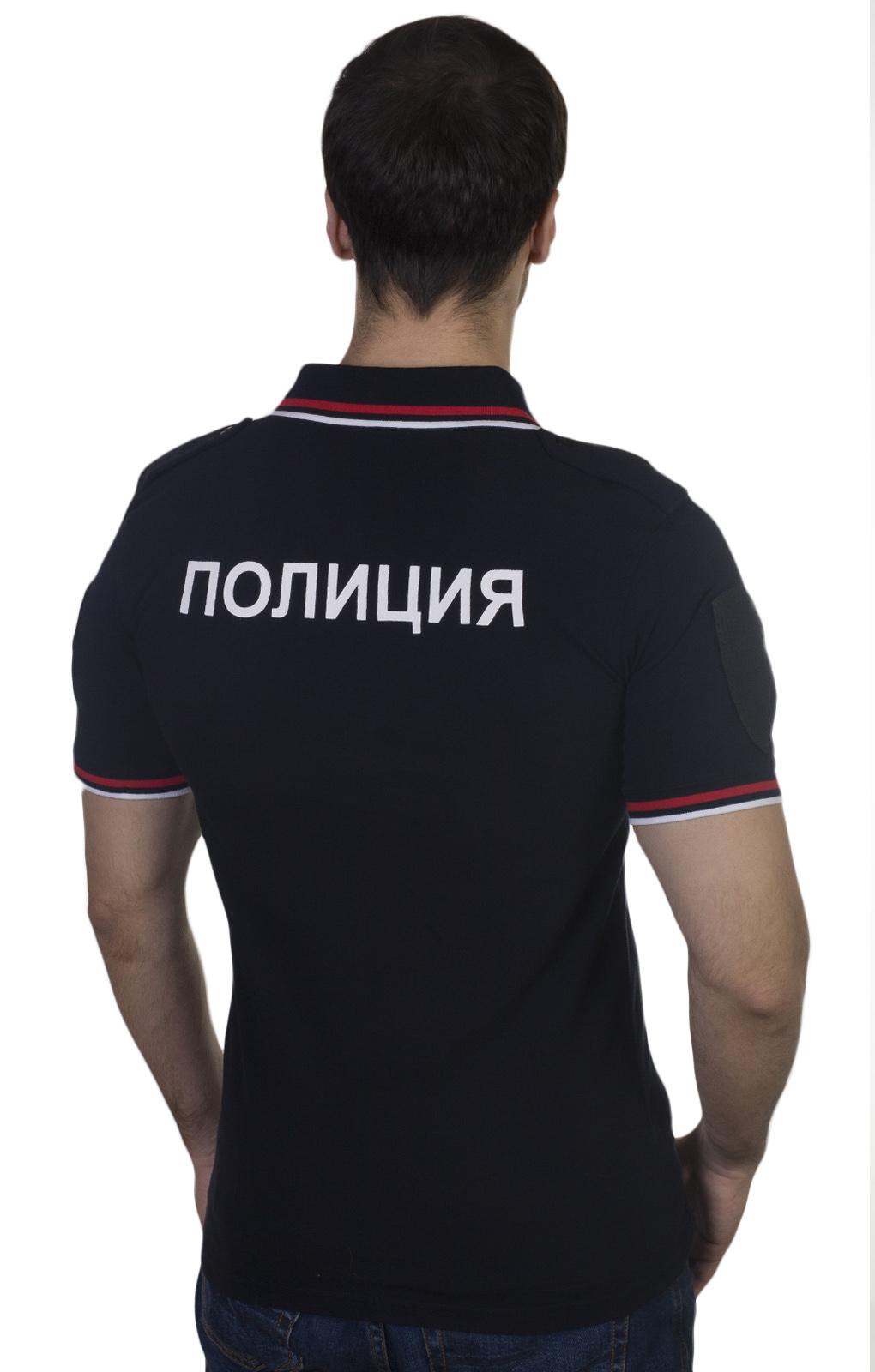 Недорогая рубашка поло МВД России