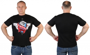 Черная футболка ПВО