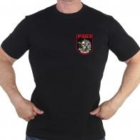 Черная футболка РХБЗ
