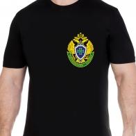 Черная футболка с эмблемой ПС ФСБ