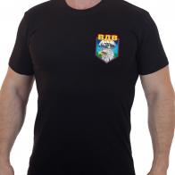 Чёрная футболка с эмблемой ВДВ