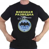 Черная футболка с эмблемой Военной разведки