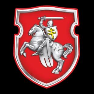 Черная футболка с Погоней (герб Беларуси)