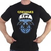 """Черная футболка с принтом """"Спецназ ГРУ"""""""