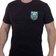 """Чёрная футболка с термотрансфером """"ВДВ"""""""