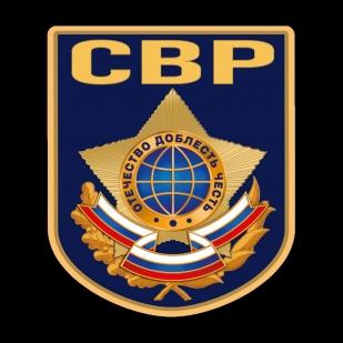 Чёрная футболка Служба внешней разведки