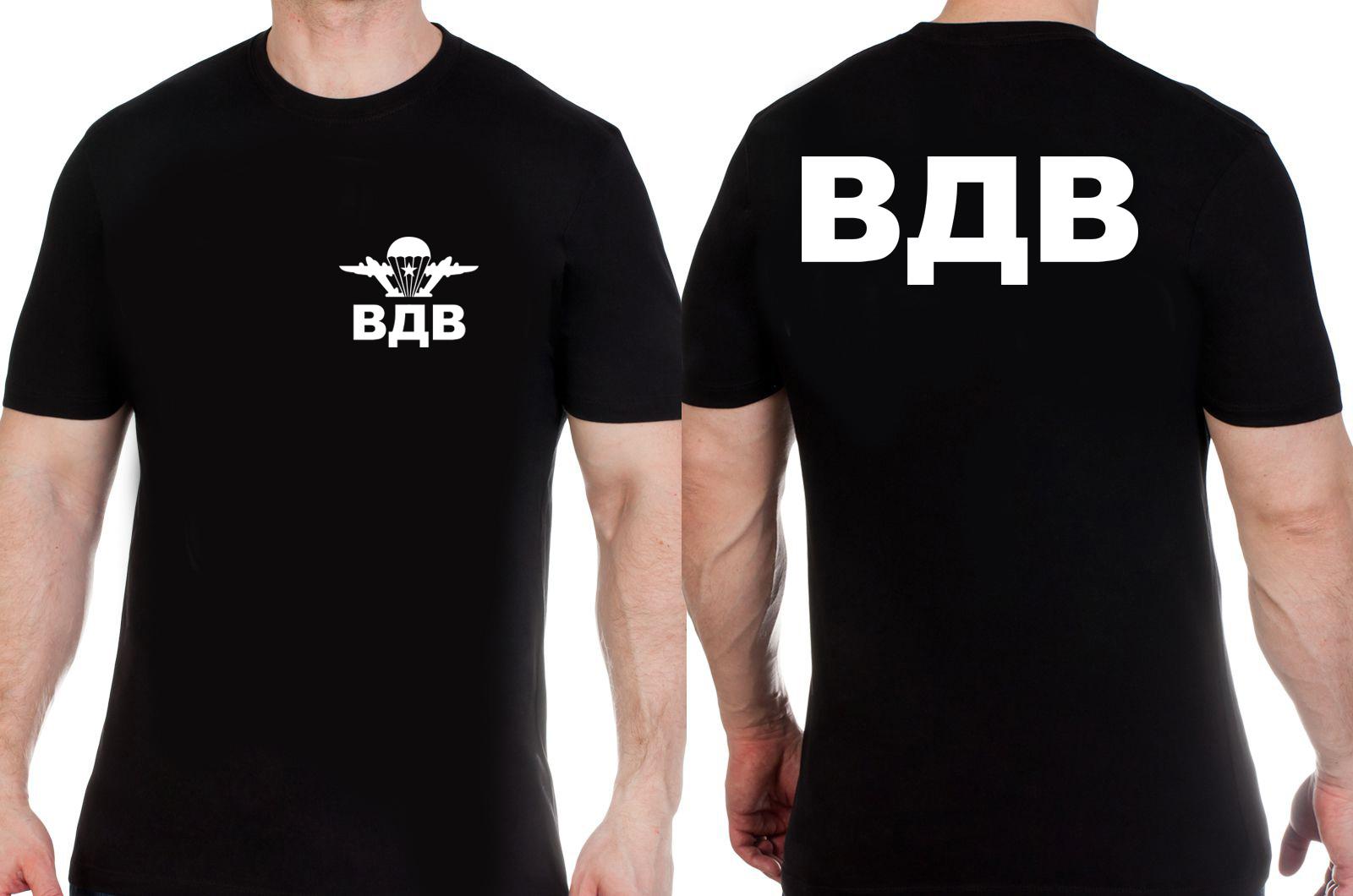 Заказать футболку с большими буквами ВДВ