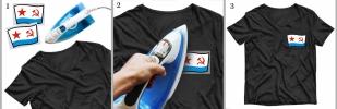Черная футболка ВМФ СССР