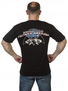 Черная футболка Военные разведчики по лучшей цене