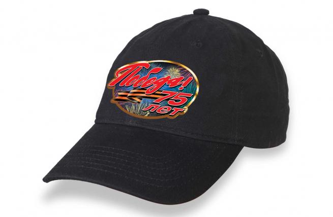 Черная кепка для массовых мероприятий на День Победы
