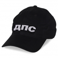 Черная кепка ДПС