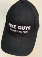 Черная кепка Five Guys