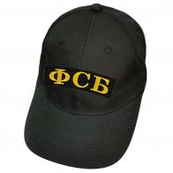 Чёрная кепка ФСБ