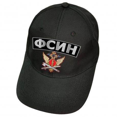 Чёрная кепка ФСИН