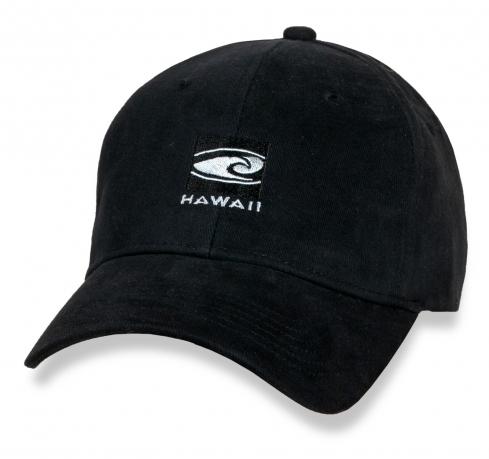 Черная кепка Hawaii.