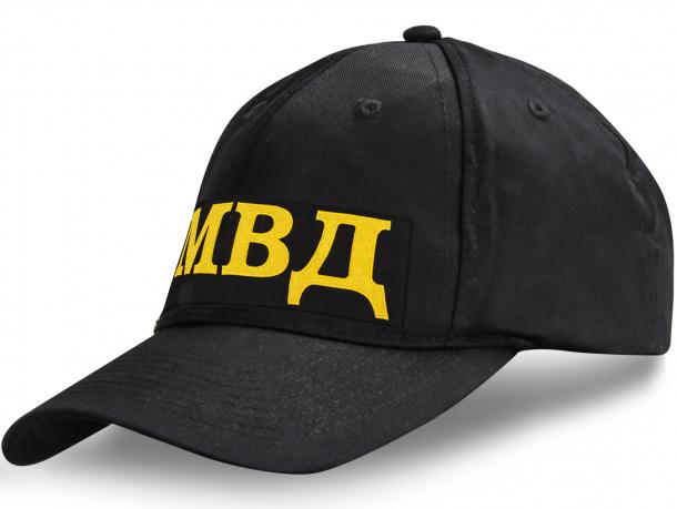 Черная кепка МВД