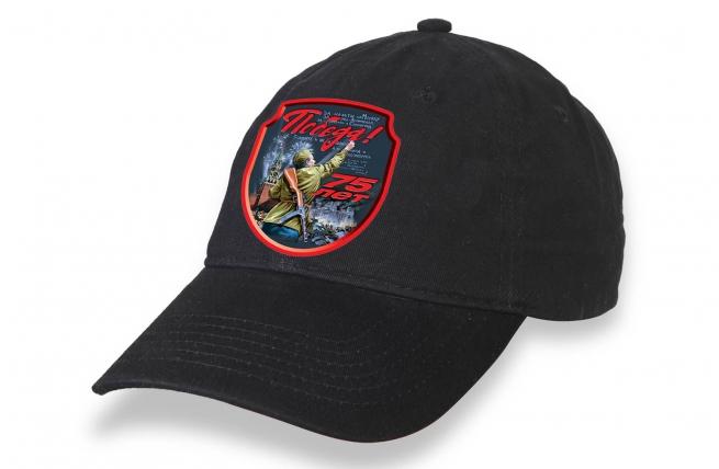 Черная кепка на День Победы-2020