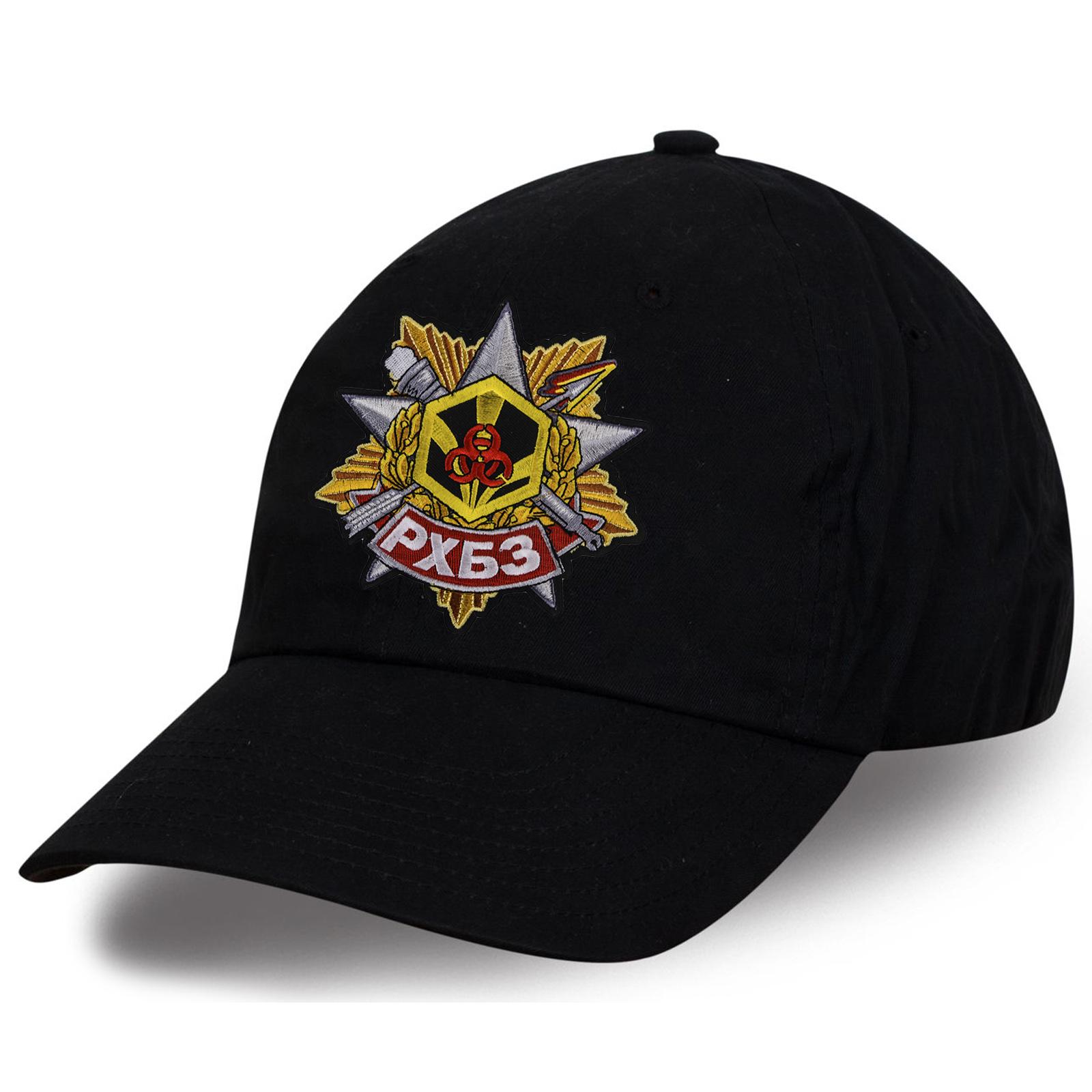 Черная кепка РХБЗ