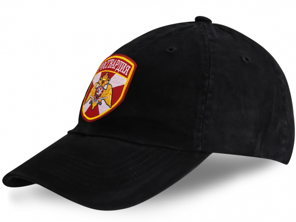 Черная кепка Росгвардия.