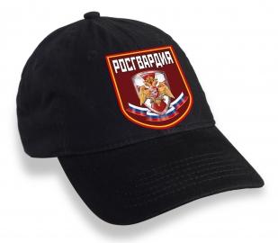 Чёрная кепка Росгвардия