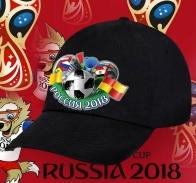 Черная кепка Россия 2018.