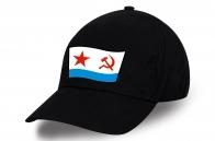 Черная кепка с эмблемой ВМФ СССР - купить по выгодной цене
