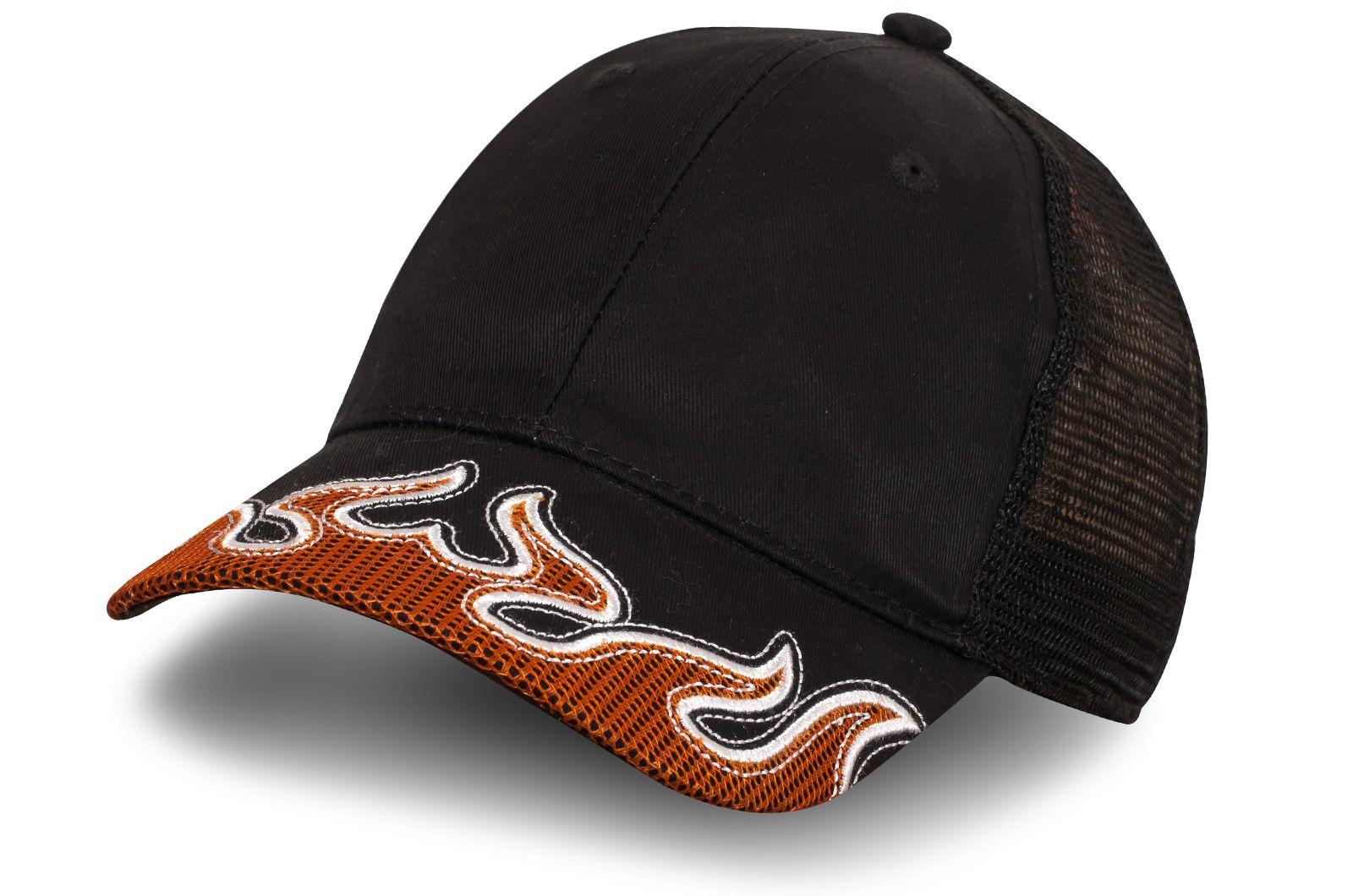 """Черная кепка """"Призрачный гонщик"""" - купить в интернет-магазине с доставкой"""