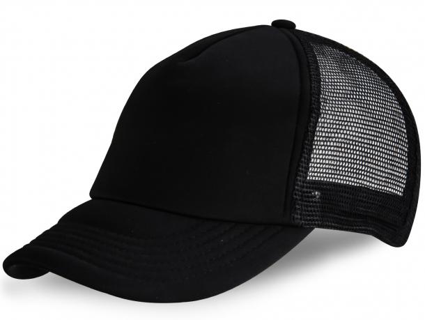 Черная кепка с сеткой - купить в интернет-магазине с доставкой