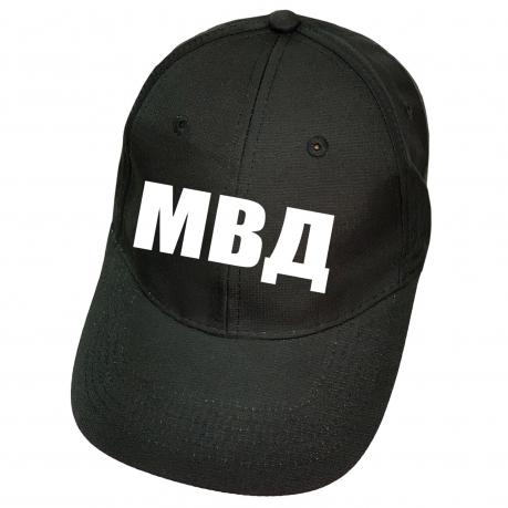 Чёрная кепка МВД
