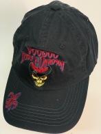 Черная кепка с вышитой нашивкой Harley Davidson