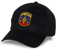 Черная кепка с вышивкой РВСН.