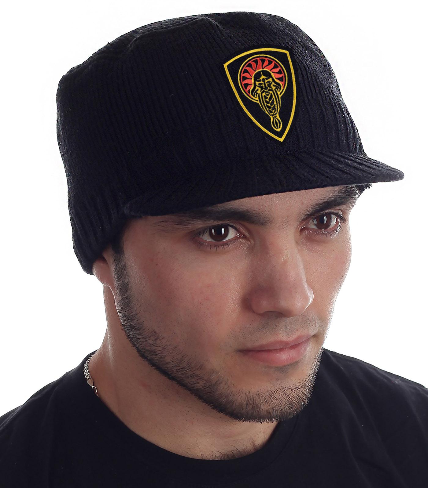 Купить черную кепку-шапку Miller Way с нашивкой Даждьбог оптом выгодно
