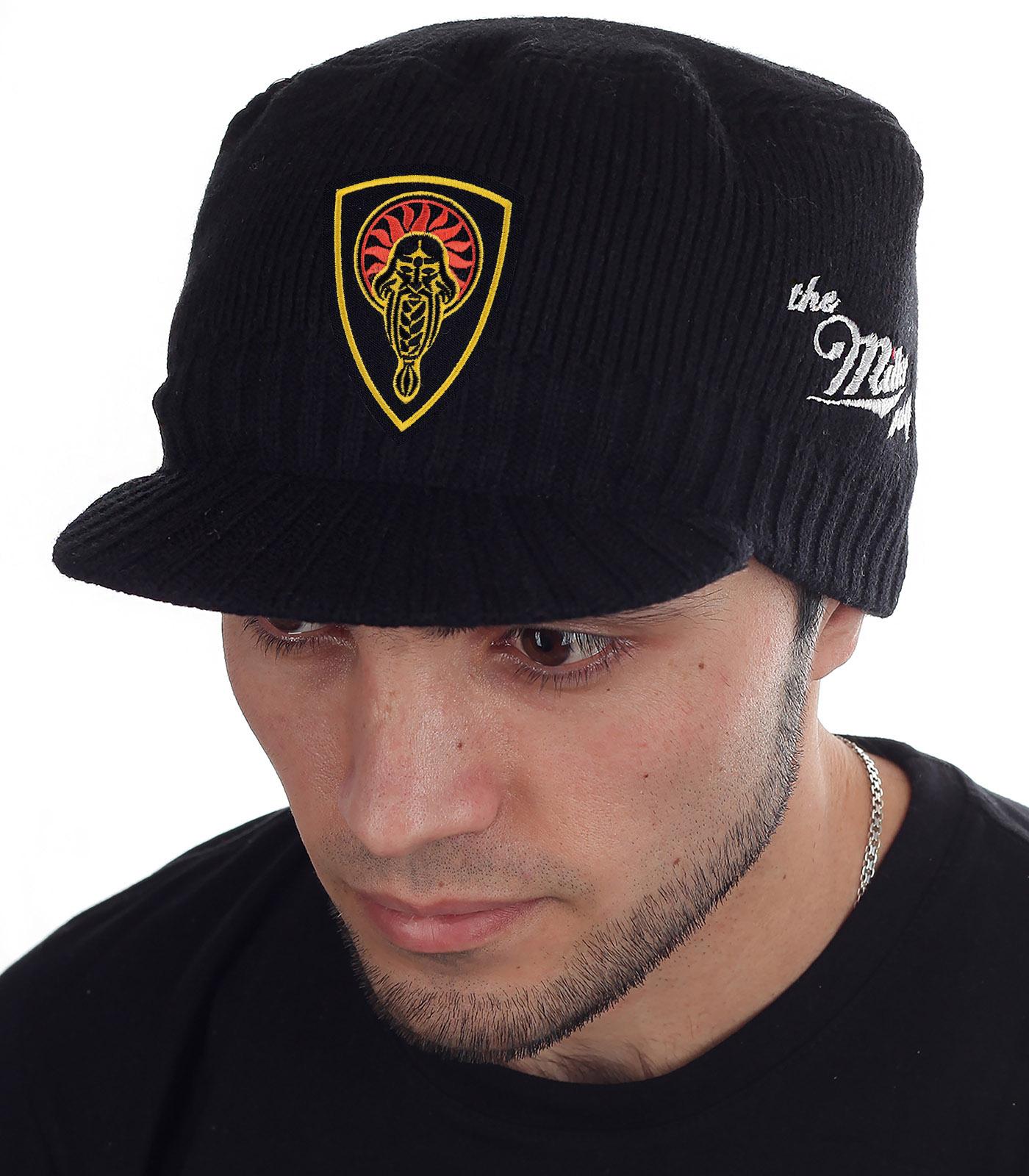 Черная кепка-шапка Miller Way с нашивкой Даждьбог - заказать с доставкой