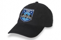Чёрная кепка Спецназ ГРУ