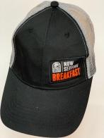 Черная кепка Taco Bell с белой сеткой на тылу