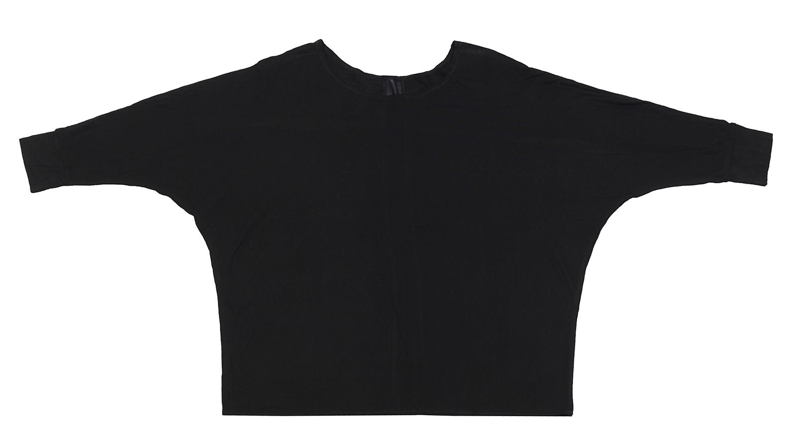 """Черная кофточка Karisma на каждый день. Покрой """"летучая мышь"""" снова в моде, заказывайте!"""