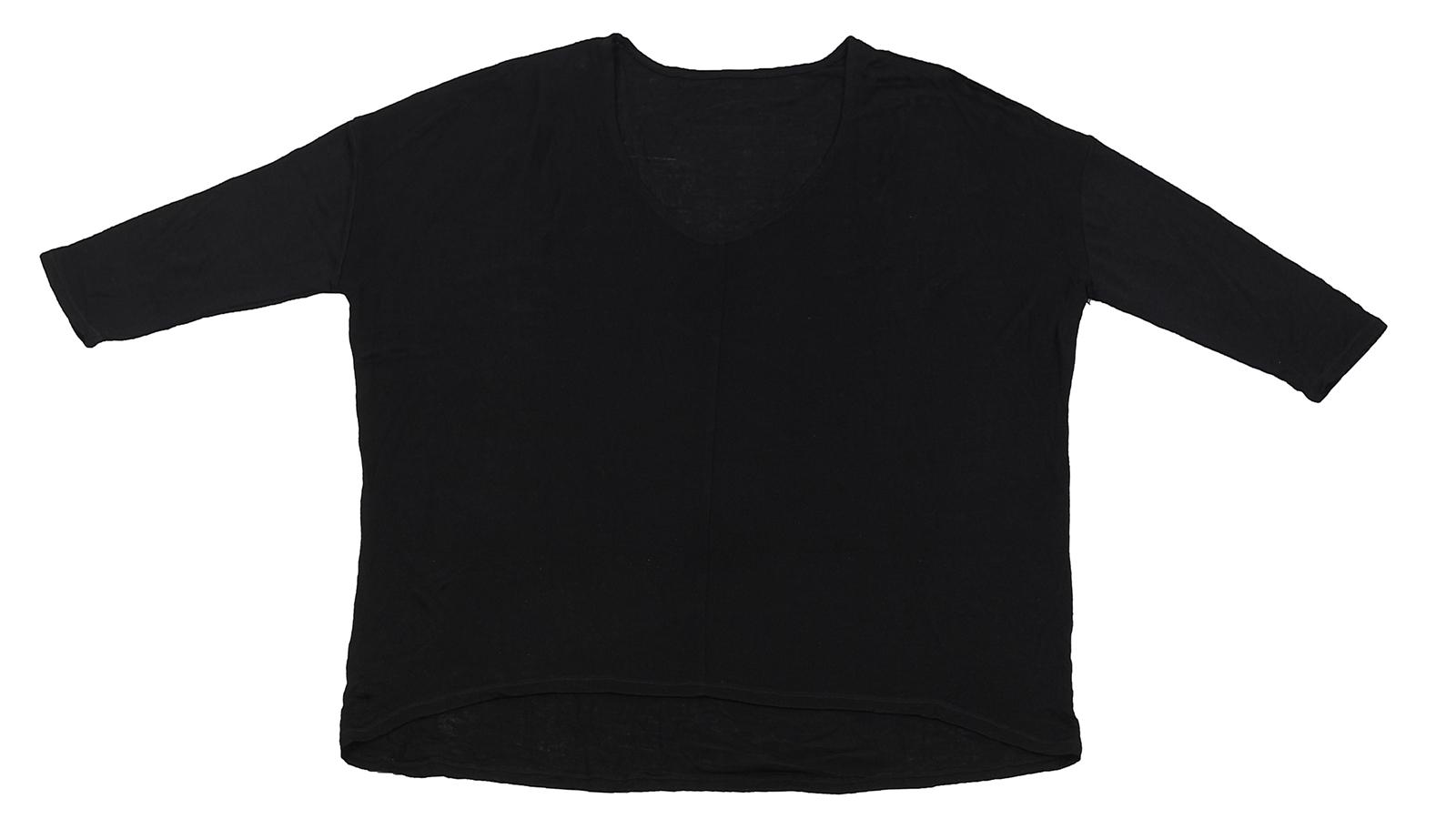 Черная кофточка модного дизайна от Karisma. Эксклюзив для стильных девушек!