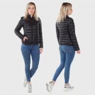 Чёрная женская куртка Fox