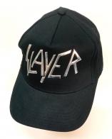 Черная летняя бейсболка Elayerс серебристой надписью