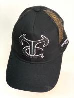 Черная летняя бейсболка TrueTimber ® с черной сеткой