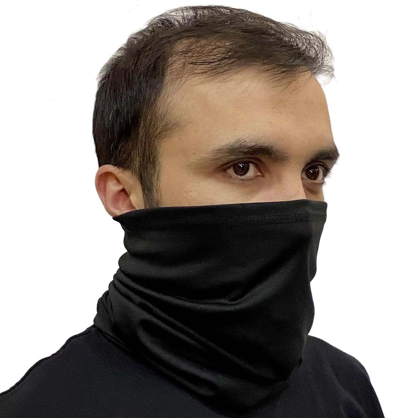 Черная маска бафф