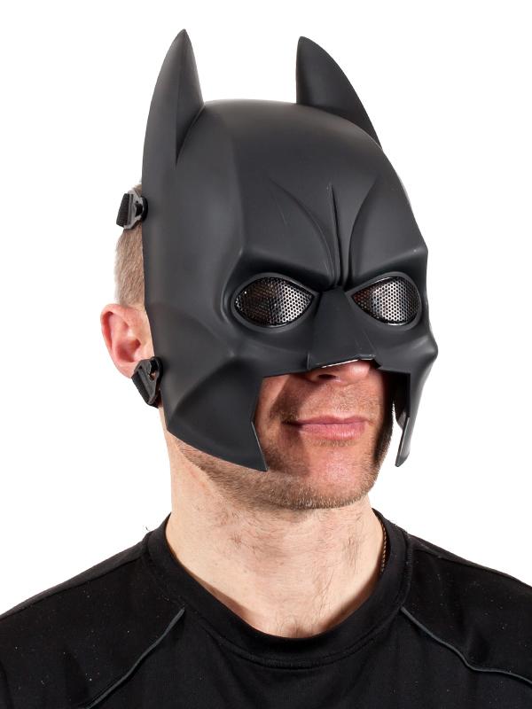 Черная маска Бэтмена для страйкбола