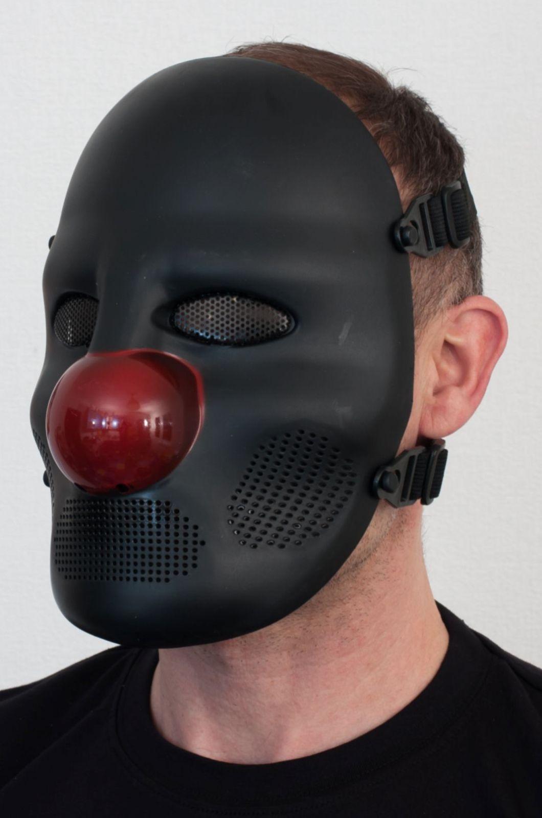 """Черная маска """"Клоун"""" по лучшей цене от Военпро"""